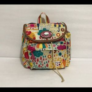 Lily Bloom Spring Showers Mini Backpack